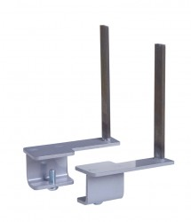 Rear desk brackets