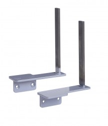 Side / return desk brackets
