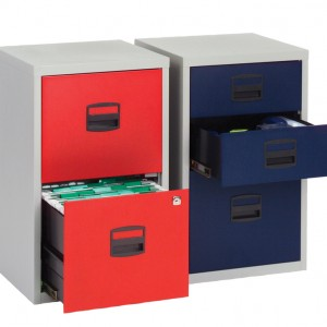 Bisley 3 draw SOHO Filing Cabinets