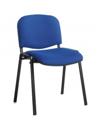 Taurus Black Frame Stacking Chair