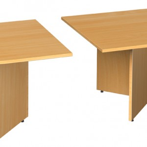 Curved End Extension Table